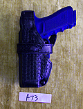 Safariland 070-83 Duty Holster Glock 9/40 Left hand Level III Basketweave