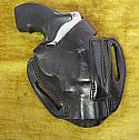 Black Leather J-Frame Holster RH