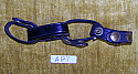 Belt Keepers Set of 4 Brass Snaps